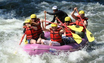 rafting at rishikesh