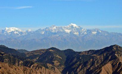 Himalayas from Kausani