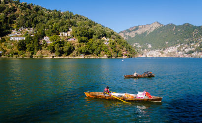 Boating at Naini Lake on a short break to Nainital