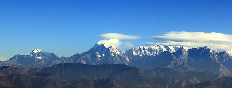 Panoramic view of Himalayas from Kausani